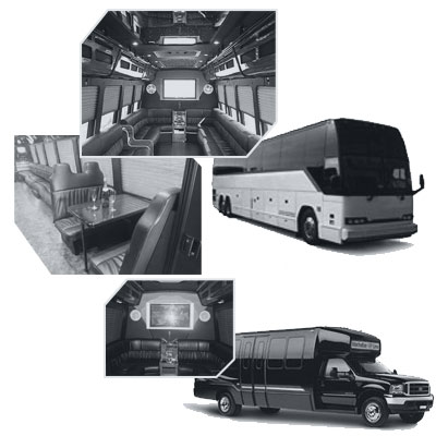 Party Bus rental and Limobus rental in Reno, NV