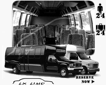 Bus for airport transfers in Reno, NV
