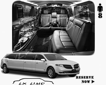 Stretch Wedding Limo for hire in Reno, ON, Canada
